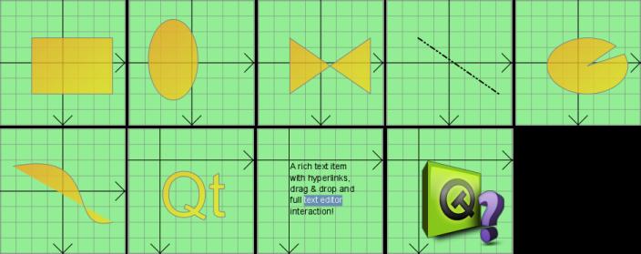 QGraphicsItem Class Reference | Документация