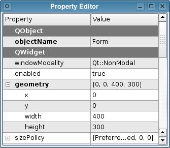 Qt 4 3: The New Qt Designer | Документация