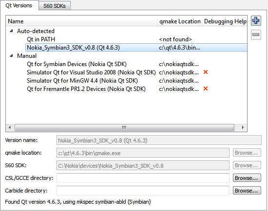 Setting Up Development Environment for Symbian | Документация
